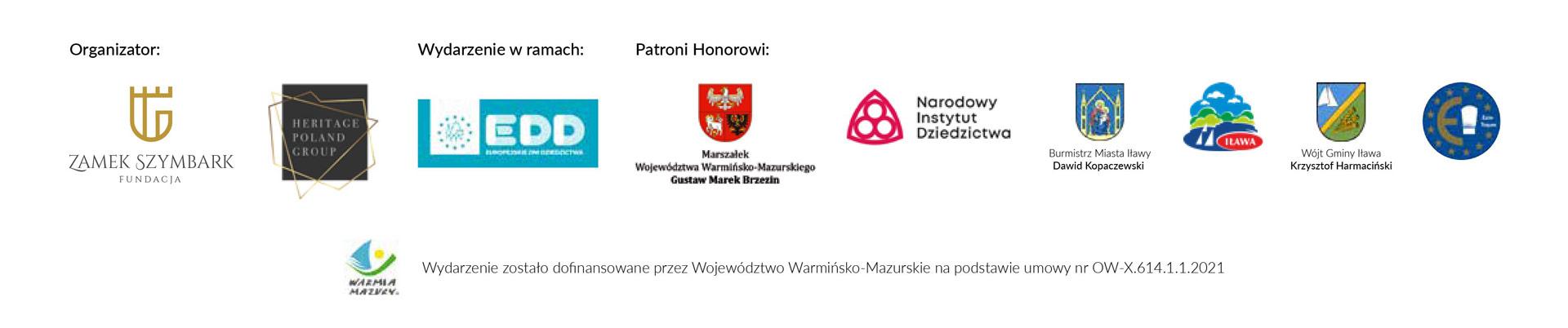EDD Szymbark 2021 - Partnerzy