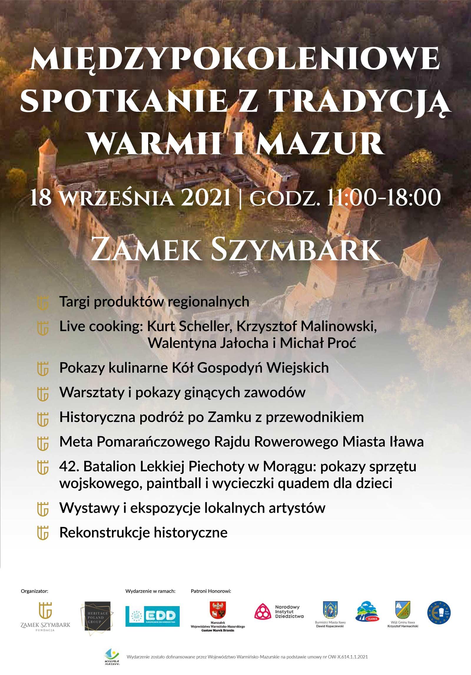 Miedzypokoleniowe Spotkanie Szymbark 2021 EDD